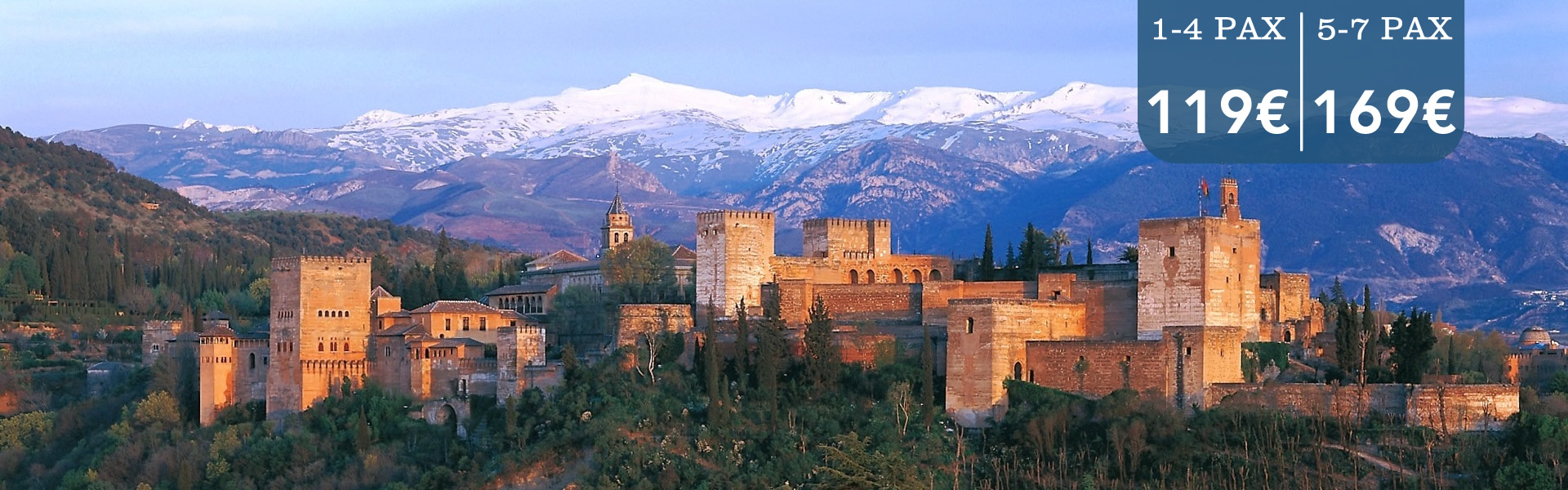 Malaga Cabbie - Best Destinations - Malaga Airport Transfers to Granada