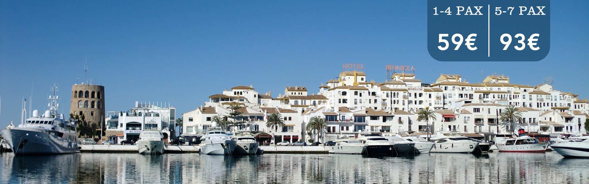Malaga Cabbie - Best Destinations - Malaga Airport Transfers to Puerto Banus