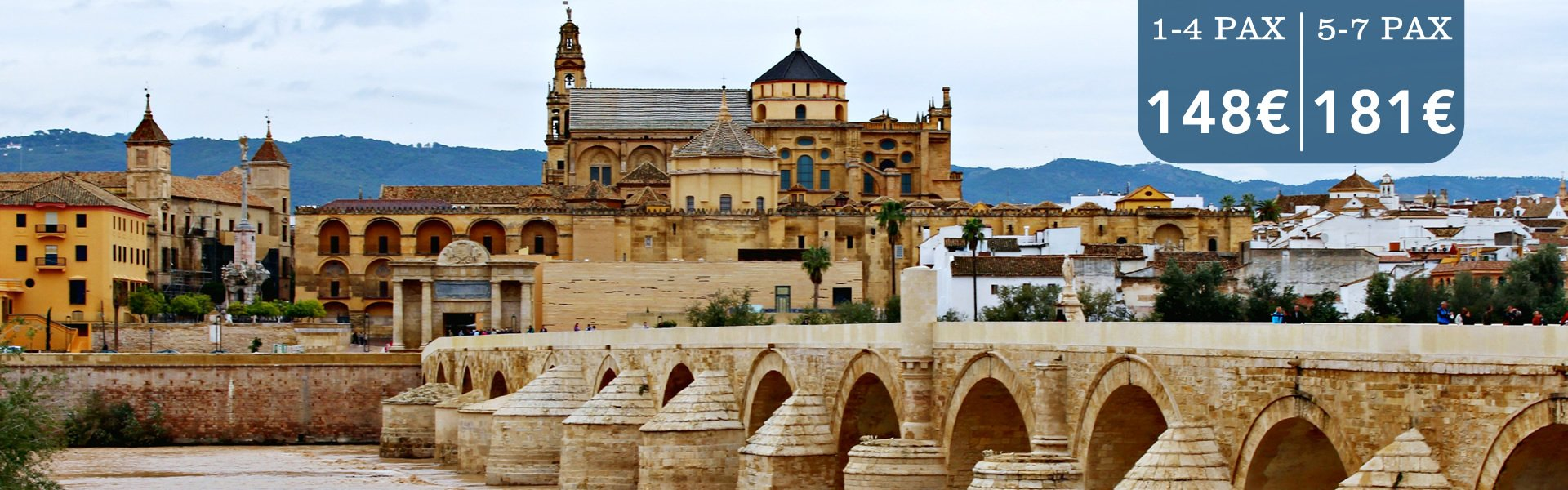 transfers from malaga airport to cordoba