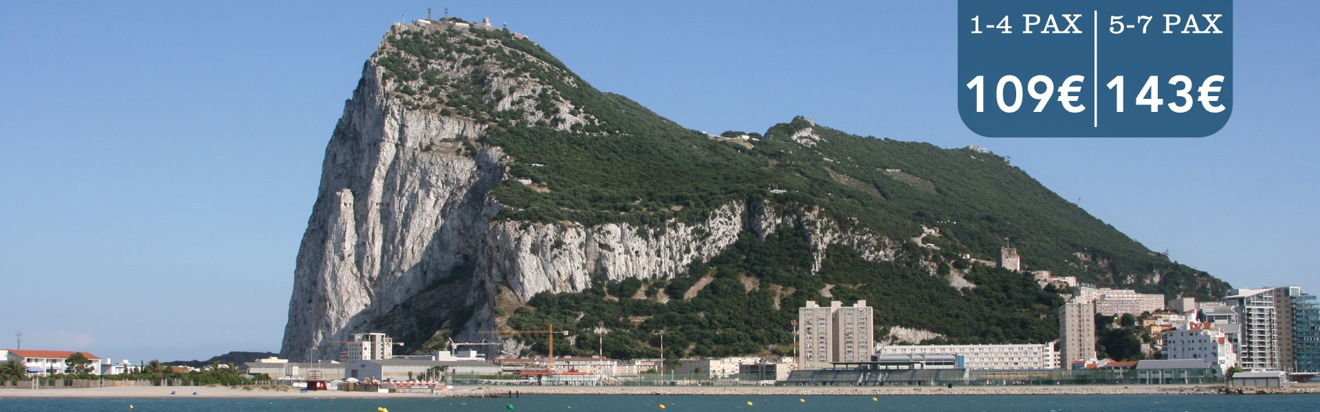 transfers from malaga airport to gibraltar