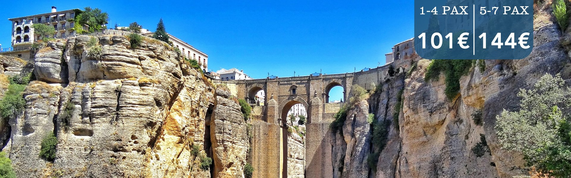 transfers from malaga airport to ronda