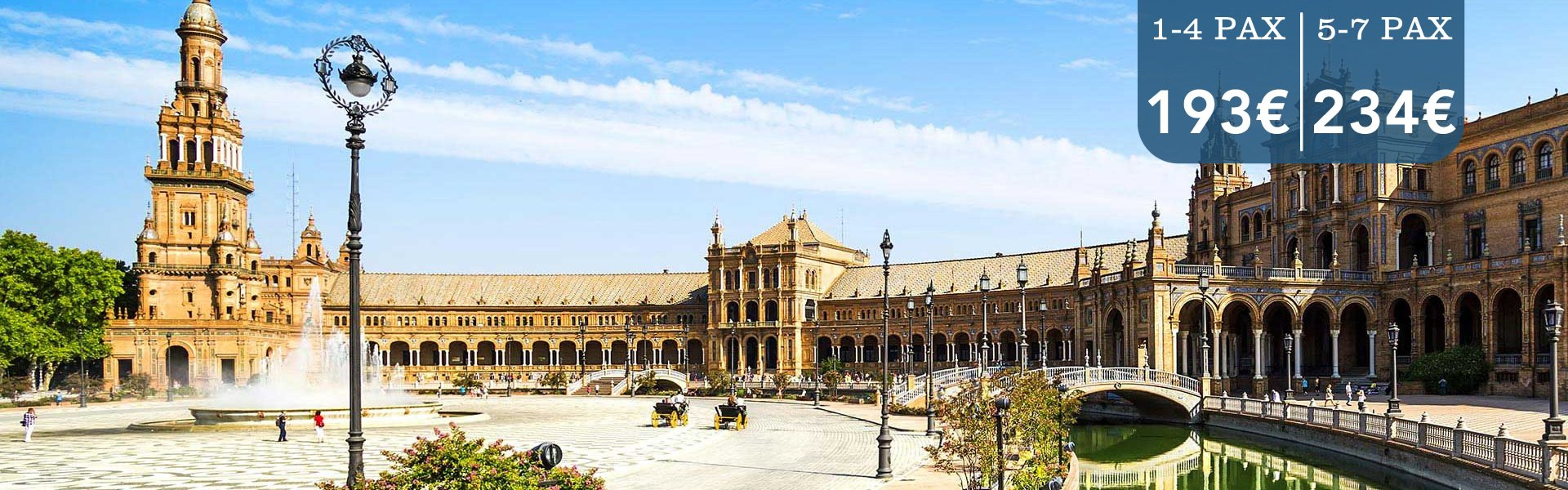 transfers from malaga airport to sevilla