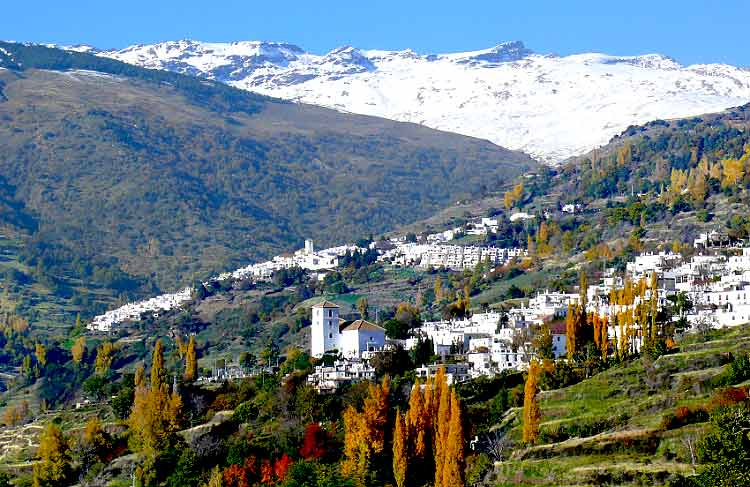 Transfers from Malaga Airport to Sierra Nevada