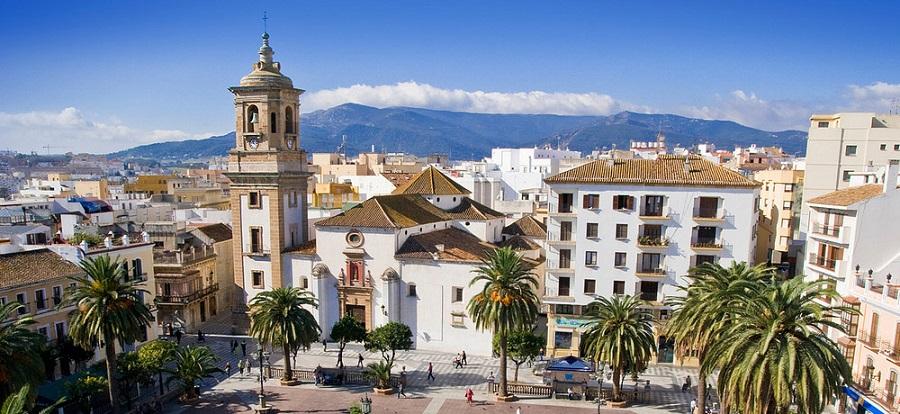 iglesia nuestra señora de la palma transfer to Algeciras from Malaga Airport