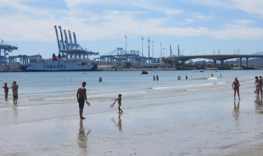 playa de la concha Algeciras