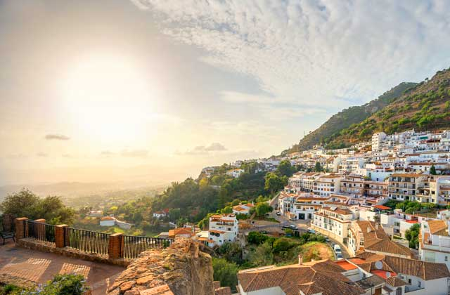vistas de transfer to mijas from malaga airport