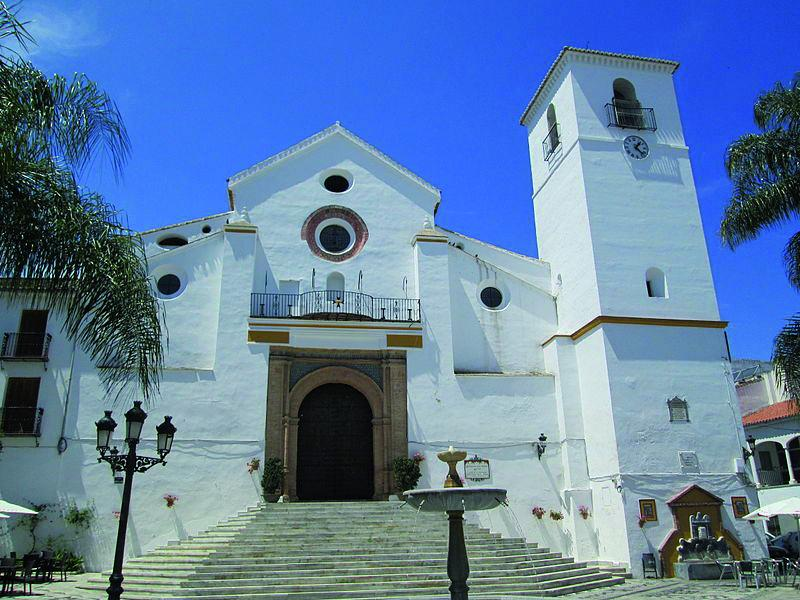 church transfer to Coín from Malaga Airport