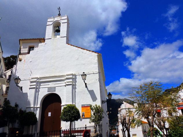 iglesia san sebastian transfer to casares from malaga airport